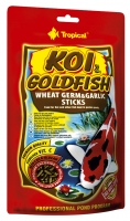 Корм Tropical Koi & Gold Wheat Germ & Garlic ST. 120g